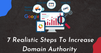 see the realistic Steps To Increase Domain Authority as soon as possible. your domain authority defines your SEO and ranking level. boost your site ranking & rank on google 1st page.