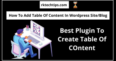 how to use easy table of contents, how to add table of content in wordpress, best table of contents plugin, add automatic table of content plugin, add attractive table of contents in your wordpress site,