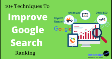 improve google search ranking, how to improve google search ranking, How to improve google search results, easy ways to increase your google search rank, How to improve my websites ranking in a google search,