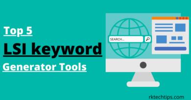 lsi keyword Generator Tools