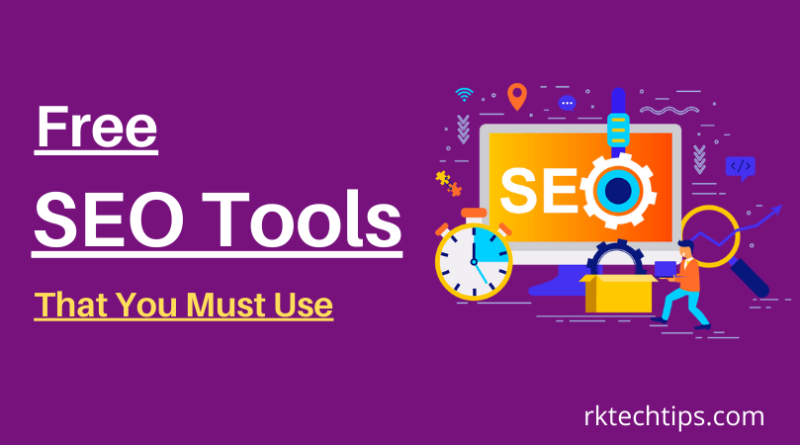 Best Free SEO Tools That You Must Use like Frase, Google search console, Page Speed insight tool, Sanity Check Sanity, Screaming Frog SEO Spider, SEMRush etc.