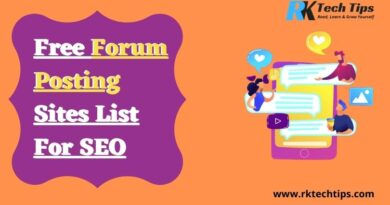Top 400+ Free Forum Posting Sites List 2021 For SEO