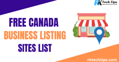 High DA Canada Business Listing Sites List 2021