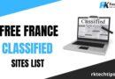 Hign DA France Classified Sites List 2021