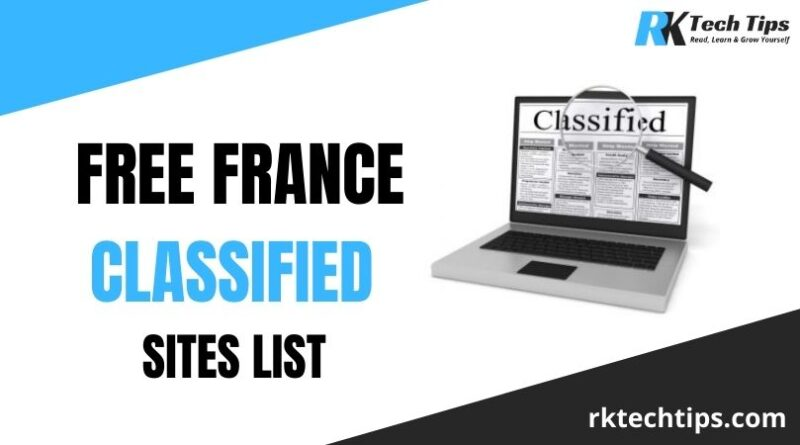 Hign DA France Classified Sites List 2021