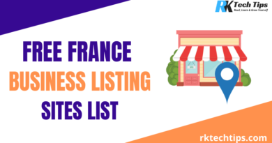 High PR France Business Listing Sites List 2021