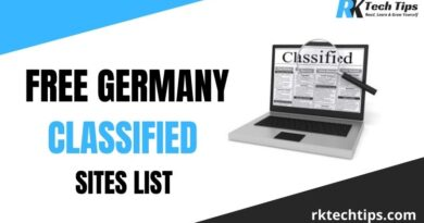 Free Germany Classified Sites List.