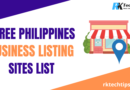 Top Free Philippines Business Listing Sites List 2021