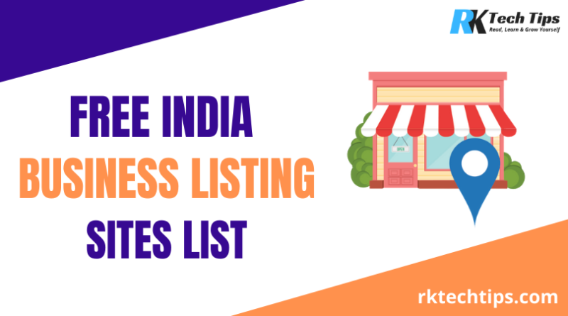 High PR India Business Listing Sites List 2021