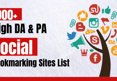1000+ Top Free Social Bookmarking Sites List 2021
